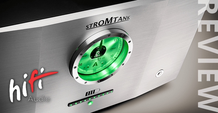 Review of power Source STROMTANK 2500 by hifi magazin Russia