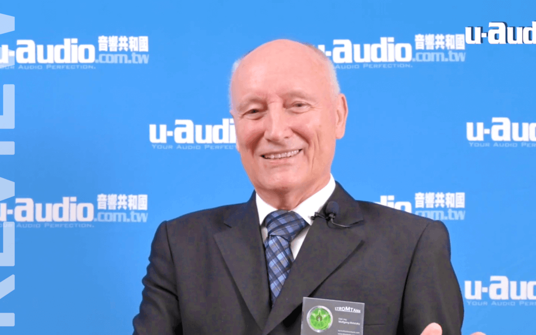 "Report from u-audio magazine in Taiwan:  ""…. what's most important in an audio system…"""